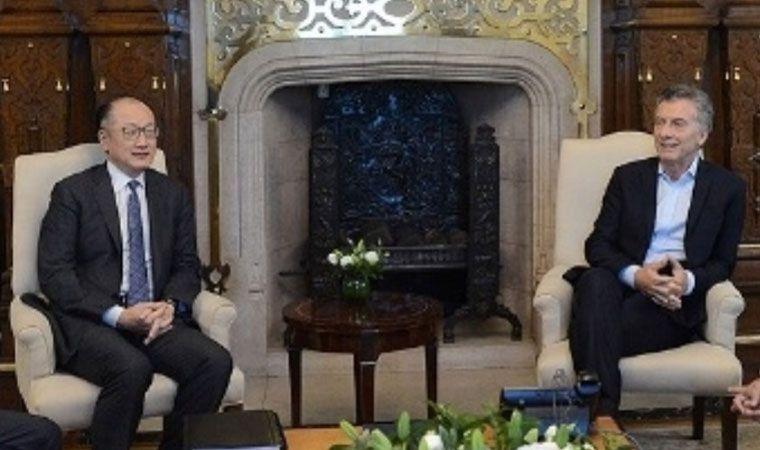Macri recibirá al presidente del Banco Mundial
