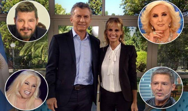 Reunión exclusiva en Olivos: Macri recibió a Tinelli, Susana, Suar y Mirtha