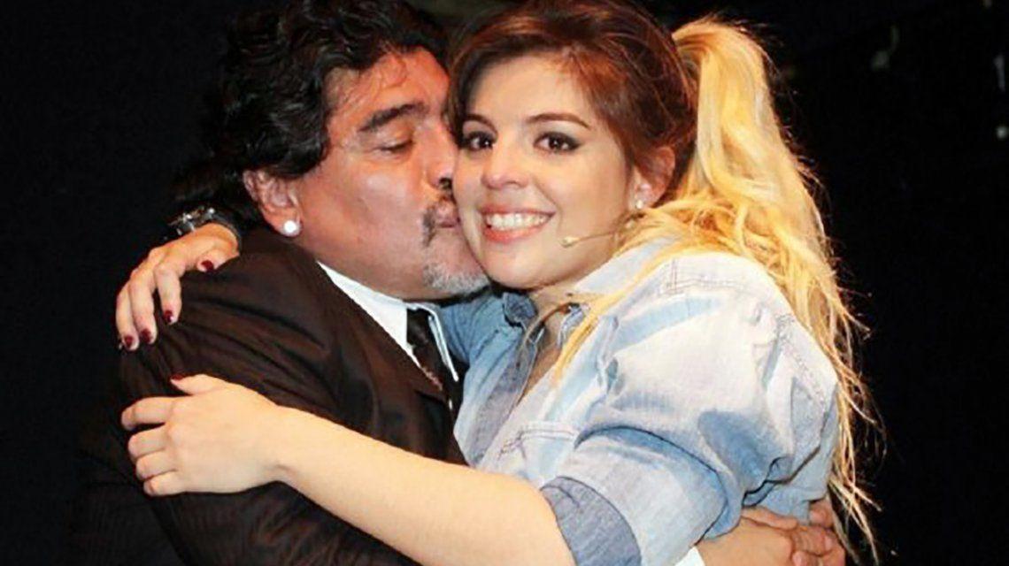 Diego habló luego de la boda de Dalma