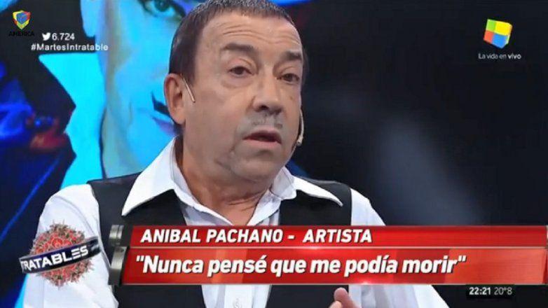 Aníbal Pachano y una dura confesión: