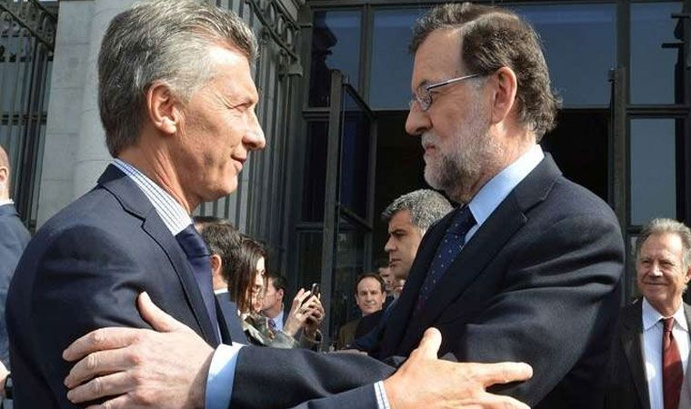 Macri y Rajoy se reunieron este martes