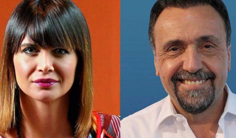 """Fuerte cruce entre Roberto Navarro y Amalia Granata"""""""