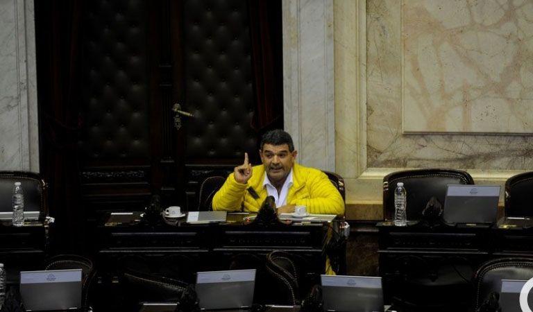 Un diputado del oficialismo levantó a Alfredo Olmedo de la sesión