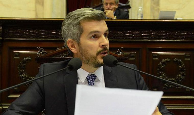 En vivo. Marcos Peña brinda su informe mensual ante el Senado