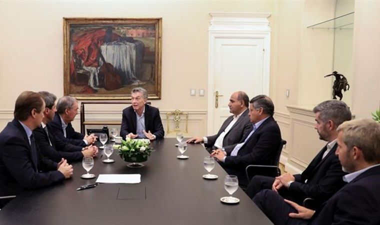 Macri se reunió con gobernadores de la oposición en Casa Rosada