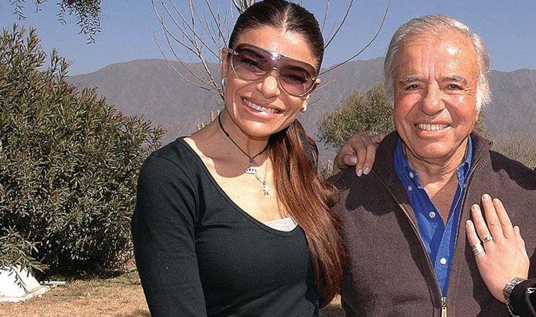 Máximo Menem denunció que Zulemita no le deja ver a su padre