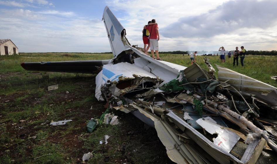UE pide a Rusia asumir responsabilidades por derribo del avión malasio