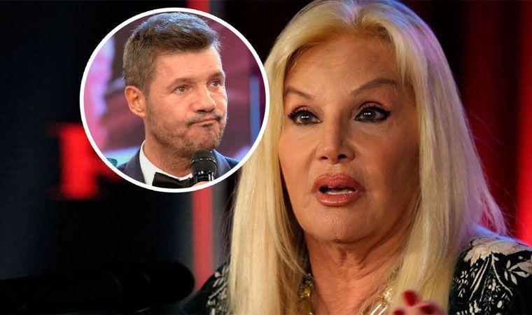 Susana se grabó por accidente criticando a Tinelli