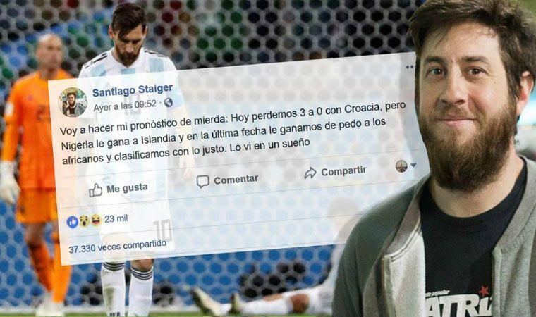 El nostradamus sanjuanino que adelantó los resultados de Argentina