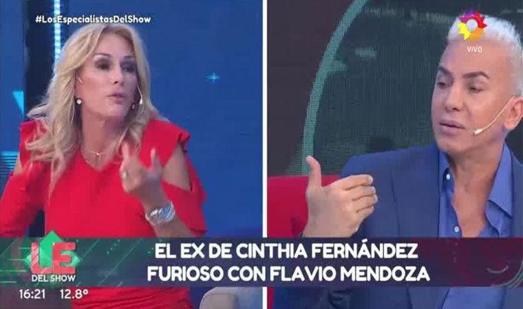 ¡Picantes! El cruce entre Flavio Mendoza y Yanina Latorre en vivo