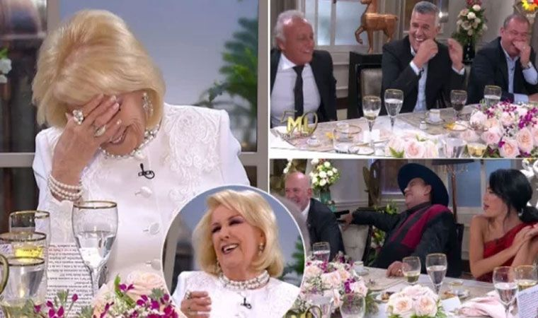 Dady Brieva descolocó a Mirtha: