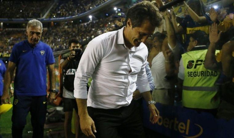 Guillermo valoró los 609 días de Boca puntero