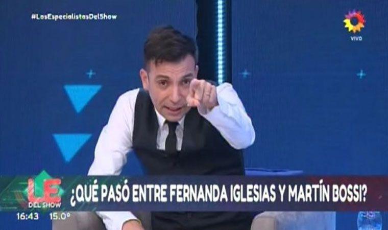 Fernanda Iglesias tuvo romance con un imitador - Pura Vida