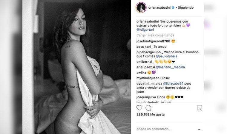 Oriana Sabatini Al Desnudo Y Sin Retoques