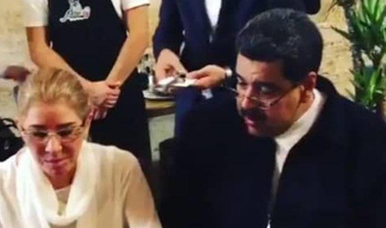 Le sale cara la cena a Maduro
