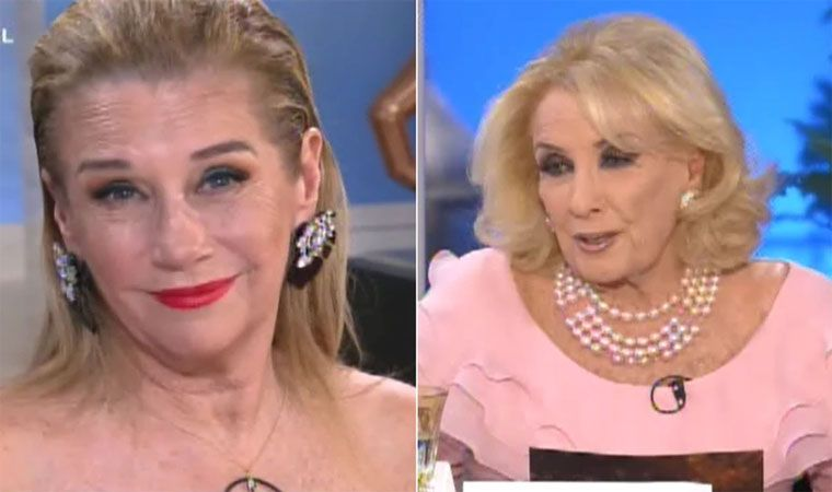 Mirtha Legrand se sinceró ante Marcela Tinayre: