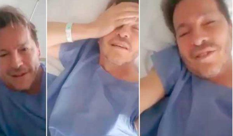 Guido Süller fue operado de urgencia