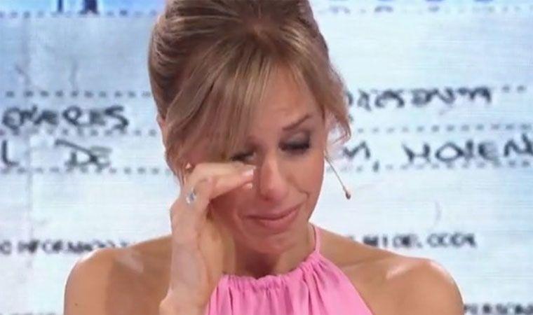 El desgarrador llanto de Mariana Fabbiani en un móvil en vivo