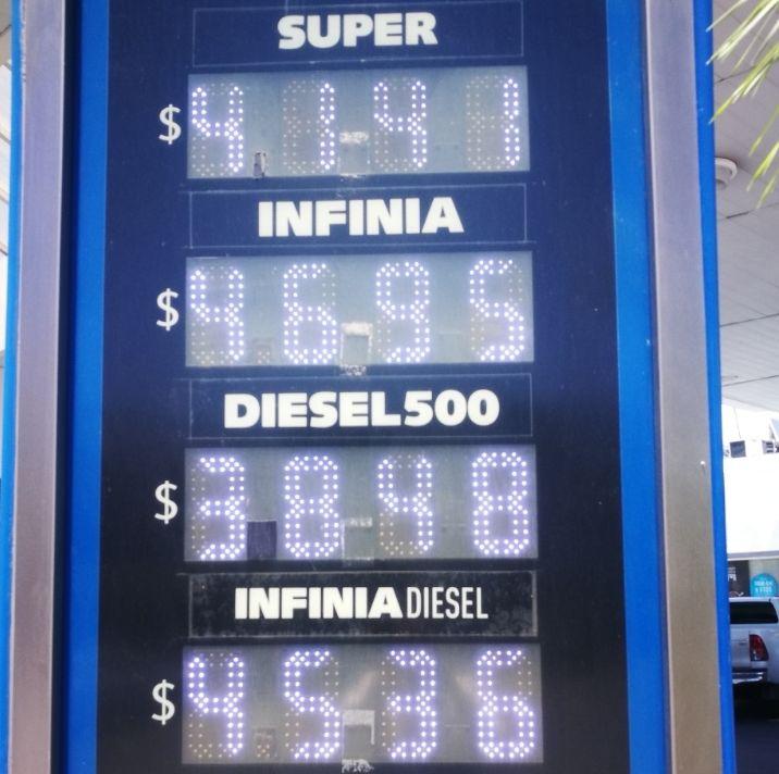 YPF bajó el precio de las naftas pero subió el del gasoil