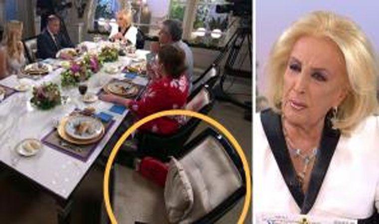 Laura Fidalgo se descompuso en vivo en el programa de Mirtha