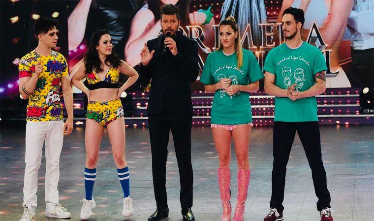 Julián Serrano y Sofi Morandi son finalistas del Bailando 2018 — Impactante definición