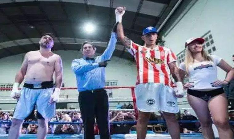 El ex arquero Pablo Migliore debutó como boxeador con un espectacular nocaut