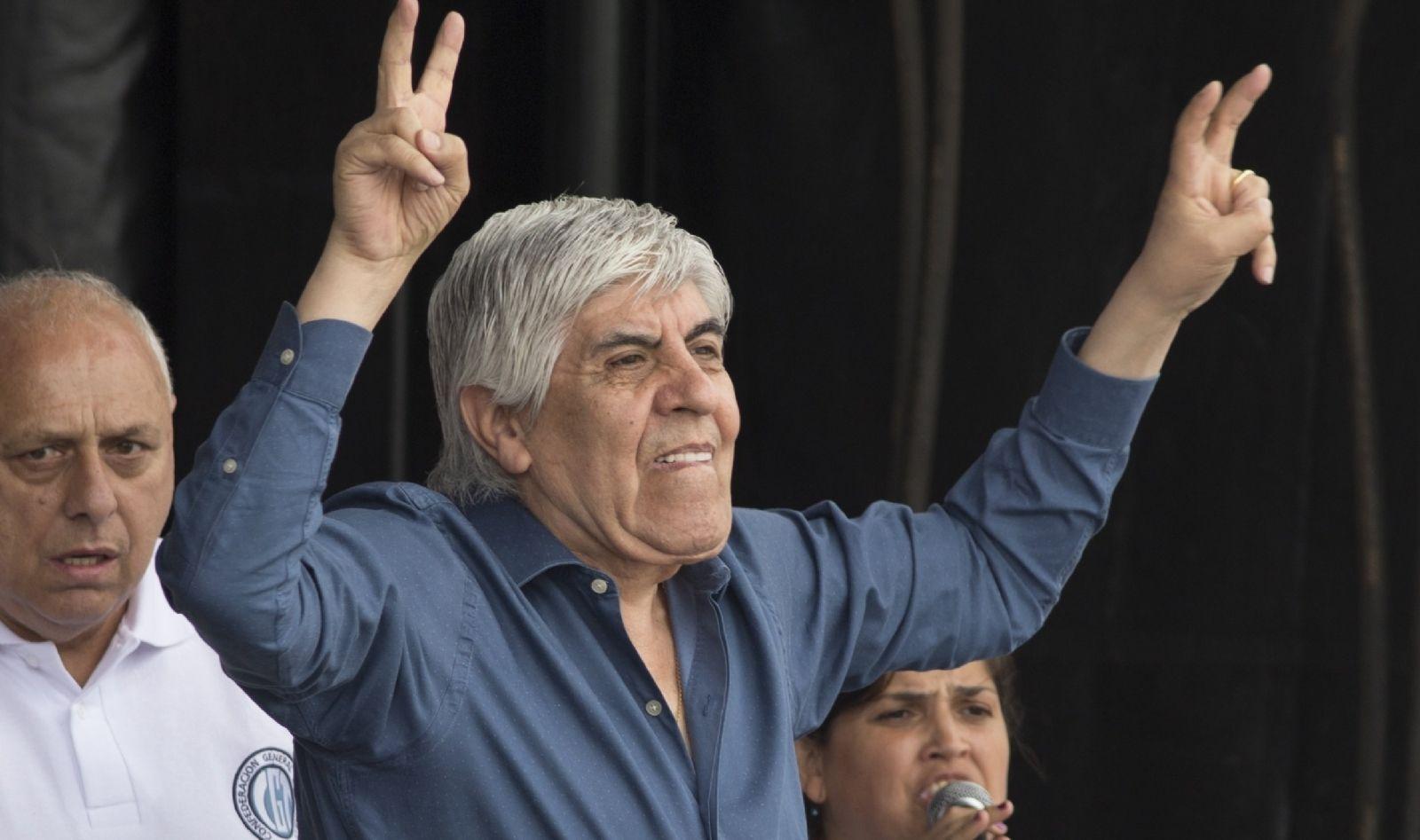 Mauricio Macri no tiene posibilidad de ser reelecto — Hugo Moyano