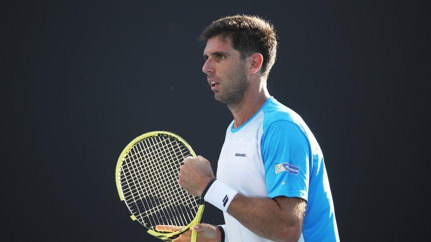 Delbonis sorprende a Dimitrov en Ginebra; Mayer cae en primera ronda