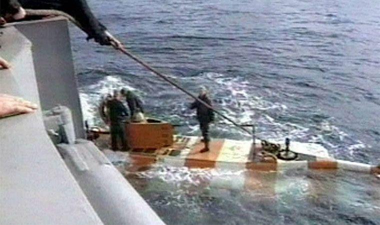 Mueren 14 tripulantes de un sumergible ruso a causa de un incendio