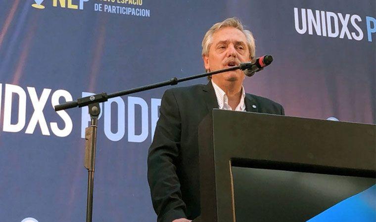 Alberto Fernández cierra su campaña en el Orfeo de Córdoba