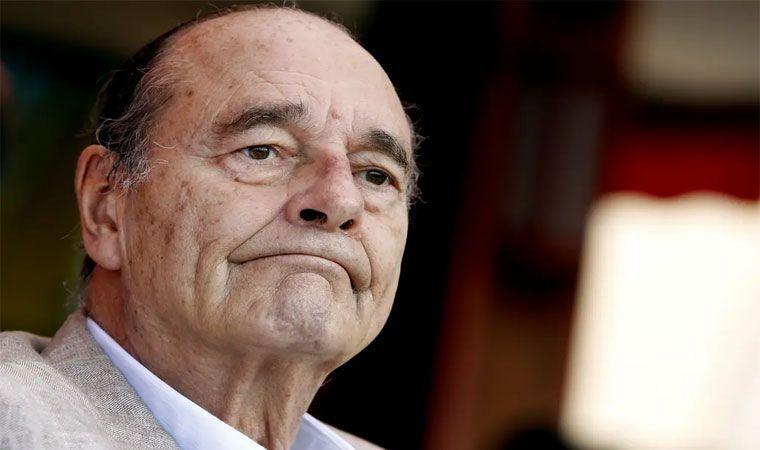 Francia llora el fallecimiento del su expresidente Jacques Chirac