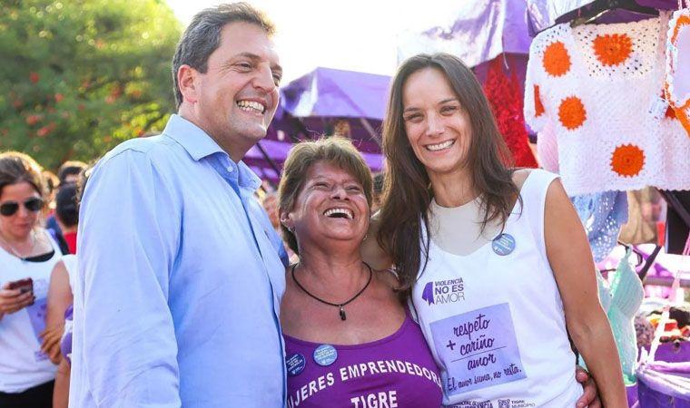 Massa suspendió su campaña: operaron de urgencia a su esposa, Malena Galmarini