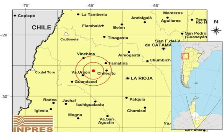 Fuerte sismo sacude a Chile en medio de protestas [EN VIVO]