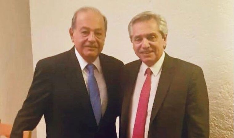 Alberto Fernández se reunió con empresarios mexicanos