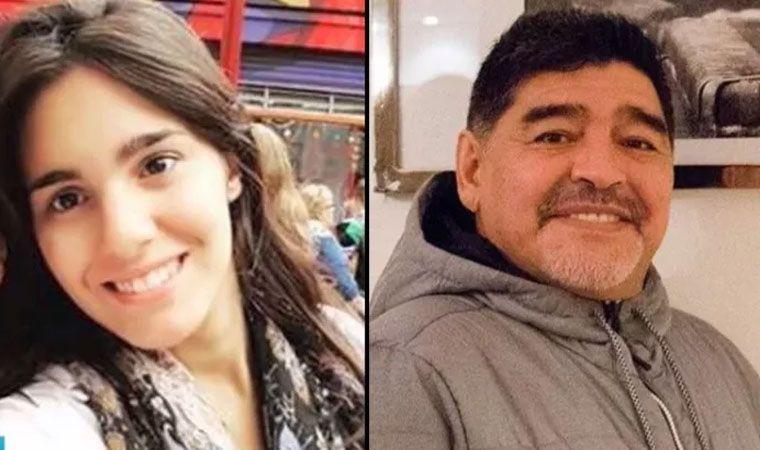 Habló por primera la supuesta nueva hija de Diego Maradona