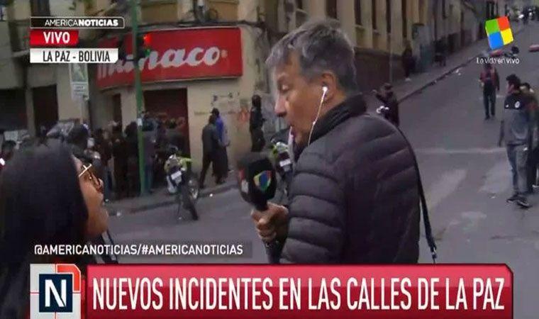 Agredieron al periodista Rolando Graña en Bolivia