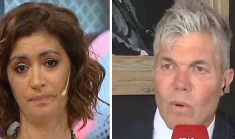 Duro cruce entre Carla Conte y Fernando Burlando por Juan Darthés