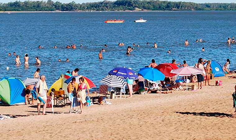 Una joven argentina desapareció en la playa de Paysandú