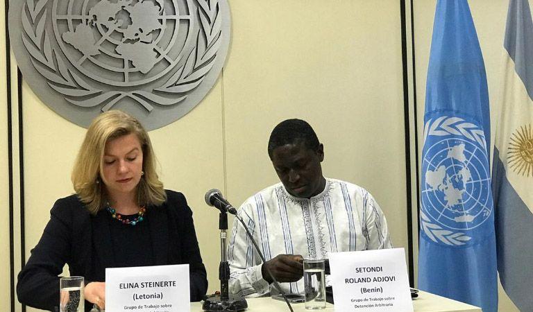 ONU condenó detenciones arbitrarias en Argentina