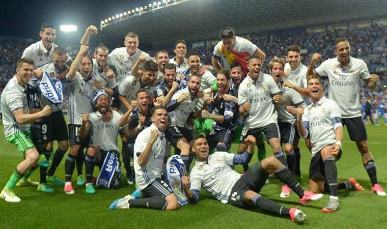 Festeja Real Madrid:
