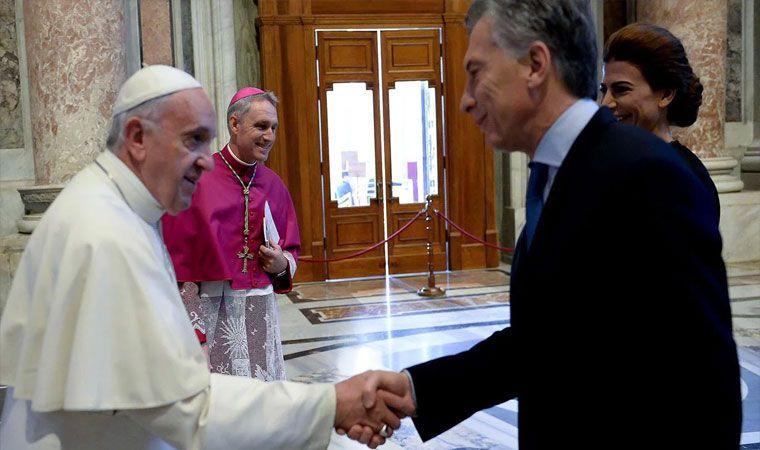Francisco le envió una carta a Macri