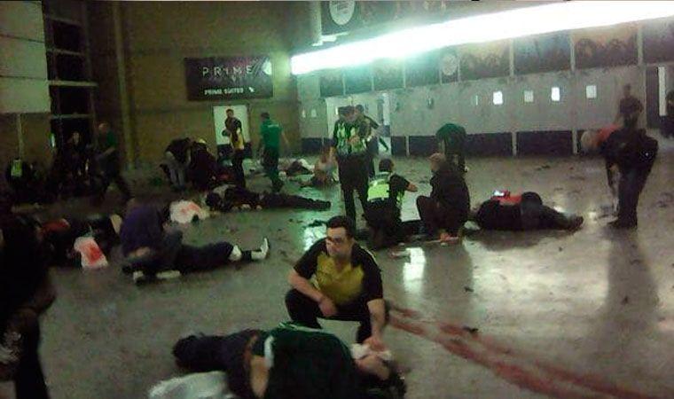 Revelan imágenes de la bomba de Manchester