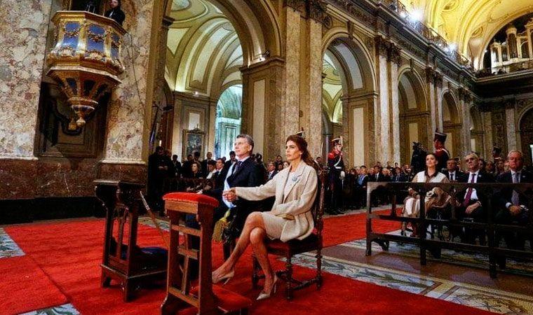 El Presidente participará junto a su Gabinete del histórico Tedeum