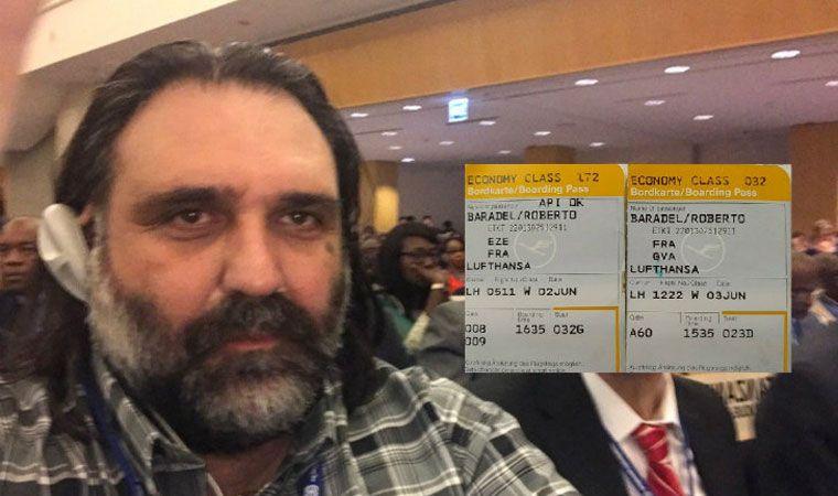 Roberto Baradel negó haber viajado a Suiza en primera clase — ARGENTINA