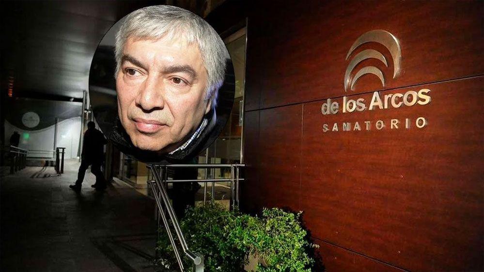 Trasladaron otra vez a Báez al sanatorio Los Arcos para realizarse estudios