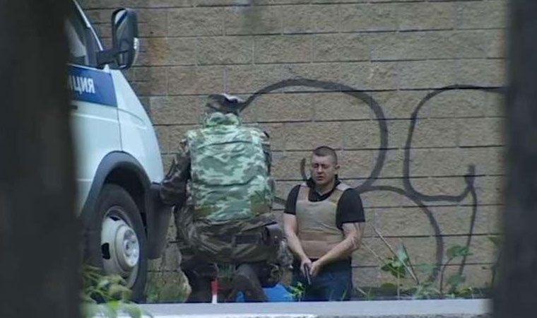 Un hombre disparó a varias personas desde su casa — Rusia