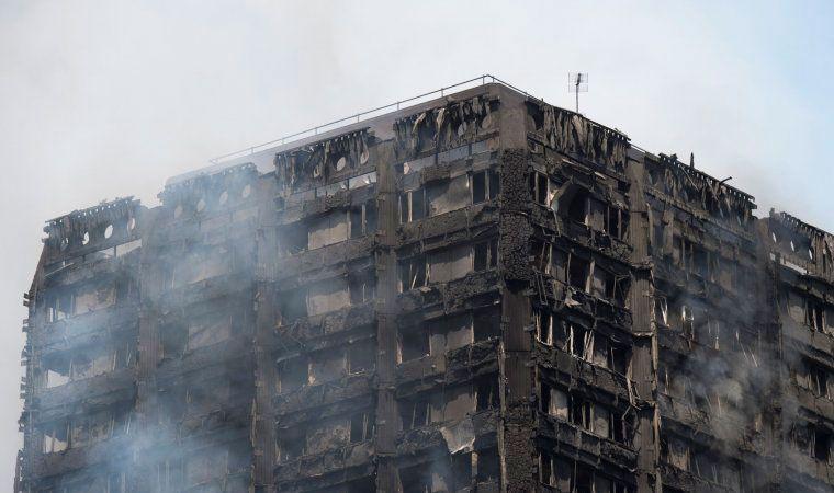 Se eleva el número de muertos por incendio en Londres