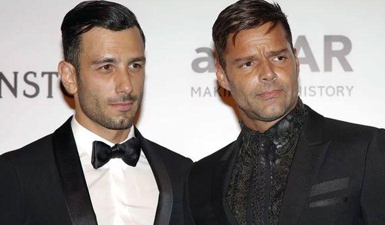 Prometido de Ricky Martin levanta polémica con publicación