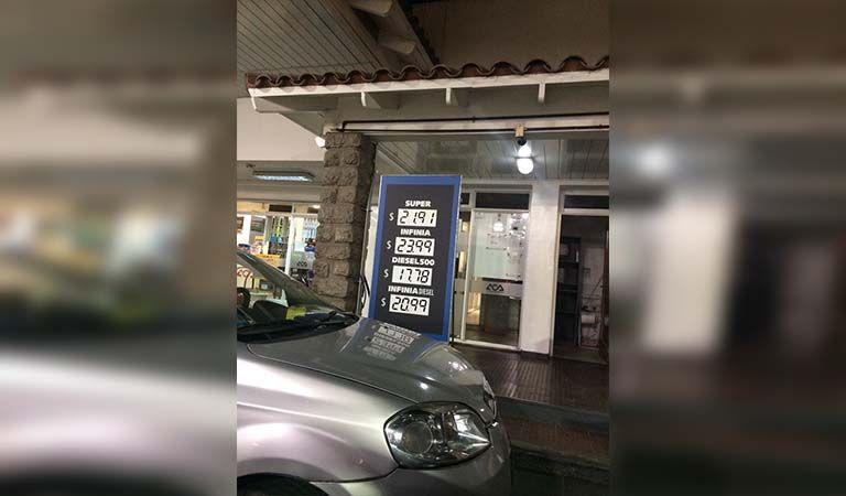 Los combustibles aumentan hasta un 7% desde mañana