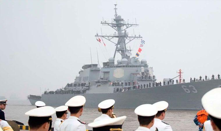 China califica de seria provocación presencia de buque de EEUU